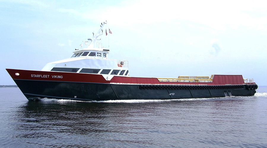 ship supply at port and anchorage